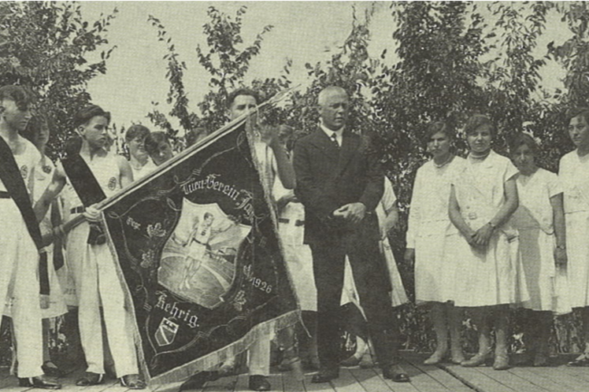 Fahnenweihe 1931
